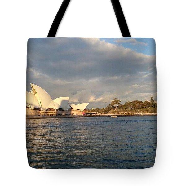 Australia Opera House Tote Bag