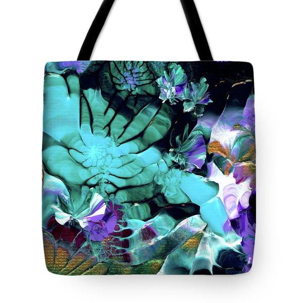 Australian Emerald Begonias Tote Bag