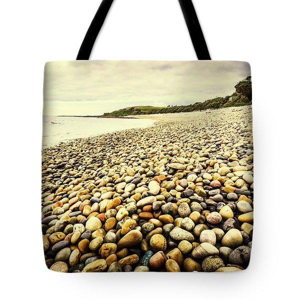 Australian Rocky Shoreline Tote Bag
