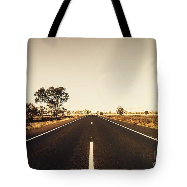 Australian Rural Road Tote Bag