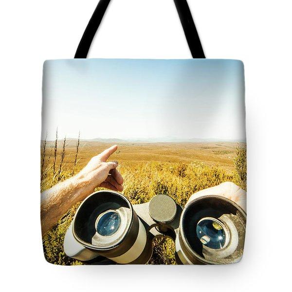 Australian Safari Tote Bag