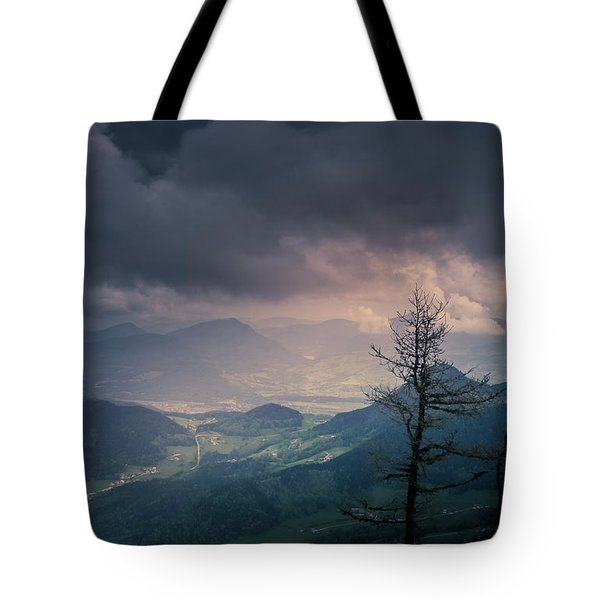 Austrian Alps Tote Bag