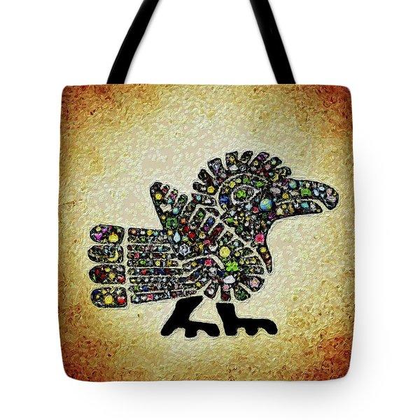 Authentic Aztec Wall Art Tote Bag