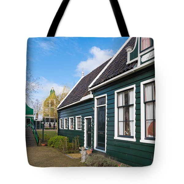 Tote Bag featuring the photograph Authentic Dutch Houses by Hans Engbers