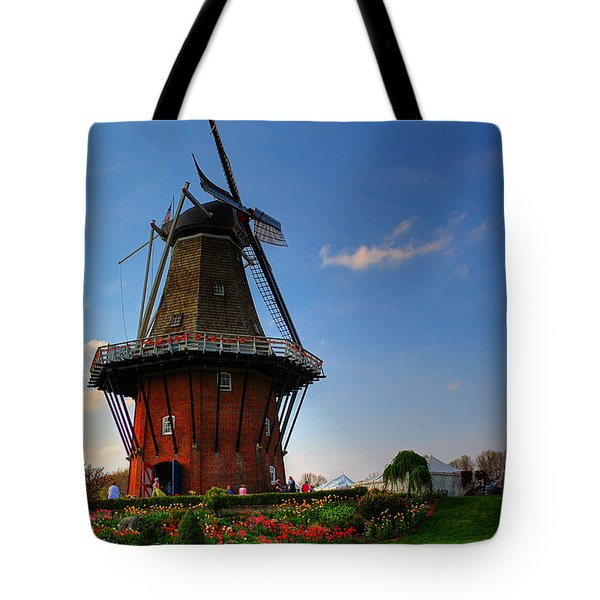Authentic Dutch Windmill Tote Bag