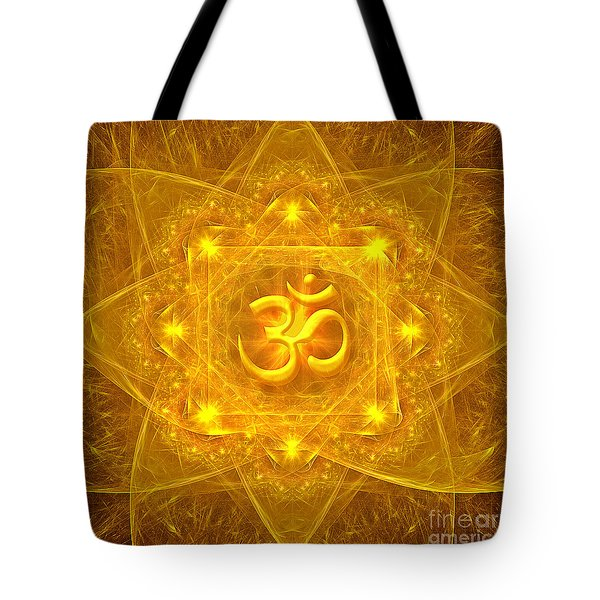 Authentic Om  Tote Bag