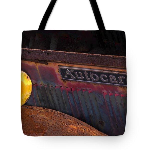 Autocar Trucks Tote Bag