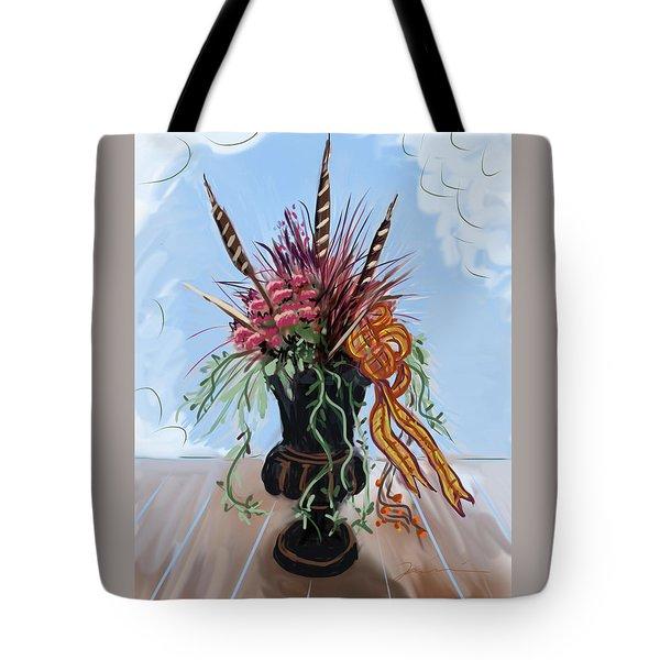 Automne Jardiniere Tote Bag