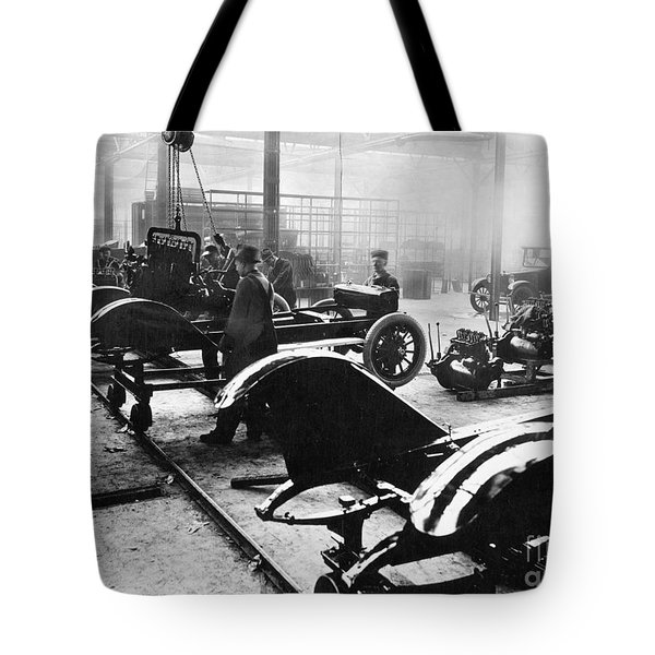 Automobile Manufacturing Tote Bag by Granger