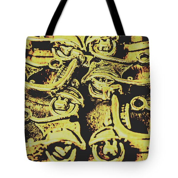 Automotive Pop Art Tote Bag