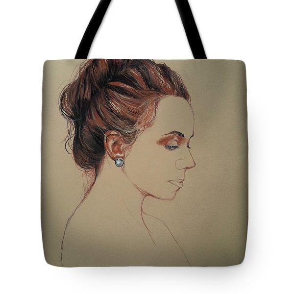 Autoportrait Maja Sokolowska Tote Bag by Maja Sokolowska