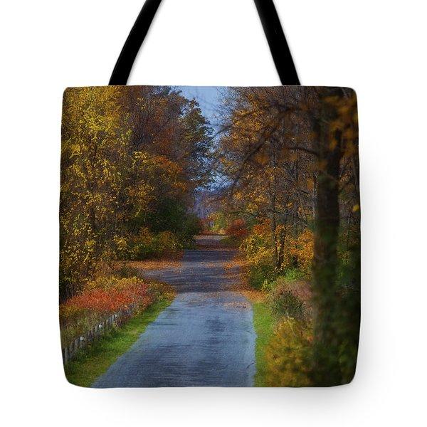 Autumn Wanderings Tote Bag