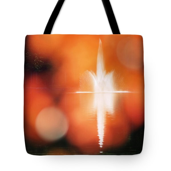 Tote Bag featuring the photograph Autumn Afternoon At The Waterfront by Rona Black