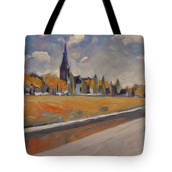 Autumn Along The Griend Tote Bag