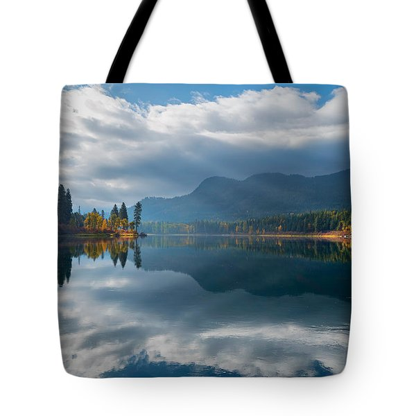 Autumn Along The Pend Oreille River Tote Bag