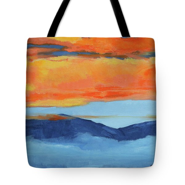 Autumn Alpenglow Tote Bag
