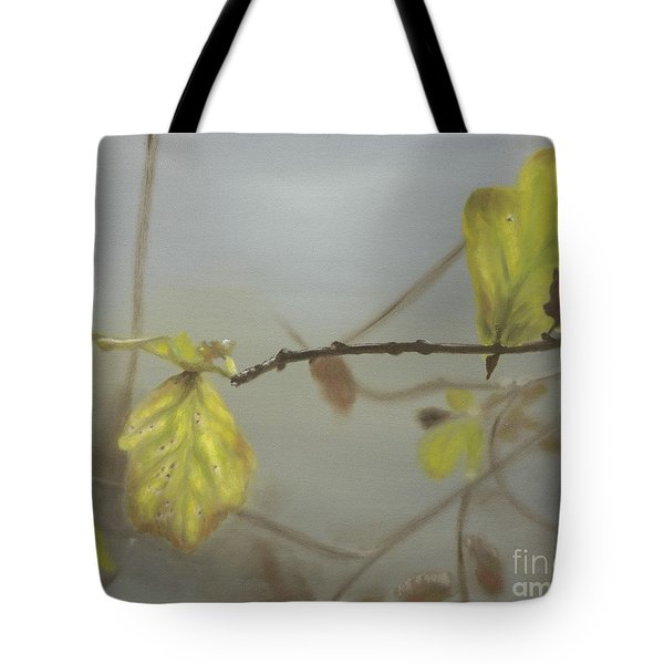 Tote Bag featuring the painting Autumn by Annemeet Hasidi- van der Leij