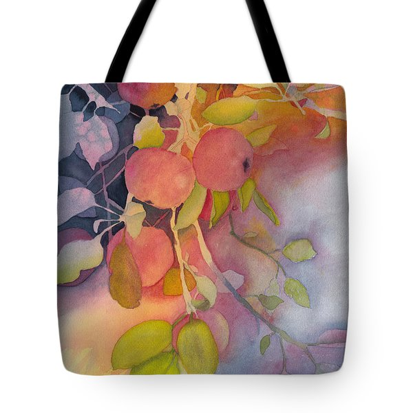Autumn Apples Full Painting Tote Bag