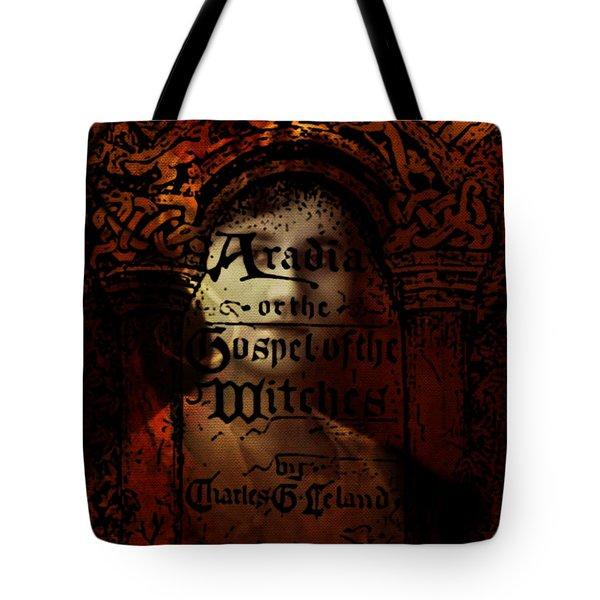 Autumn Aradia Witches Gospel Tote Bag