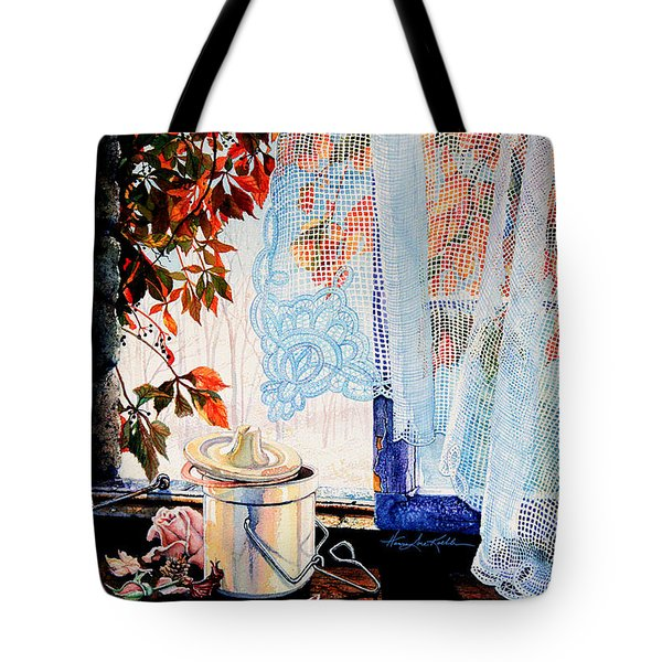 Autumn Aromas Tote Bag by Hanne Lore Koehler