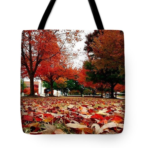 Autumn Art Tote Bag
