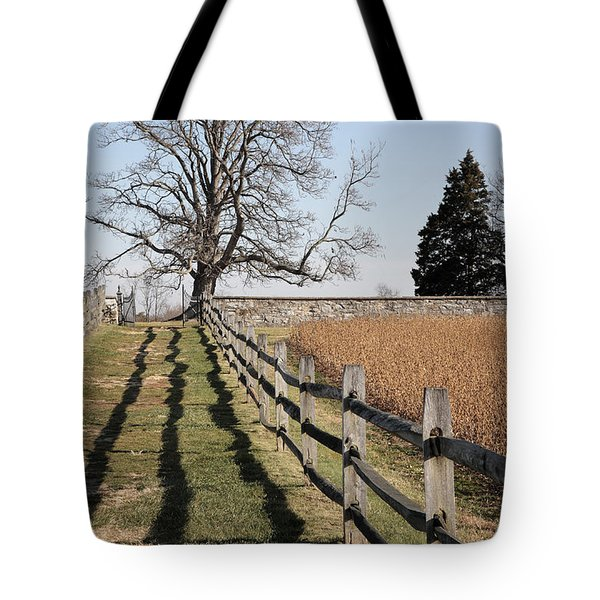 Autumn At Antietam Tote Bag