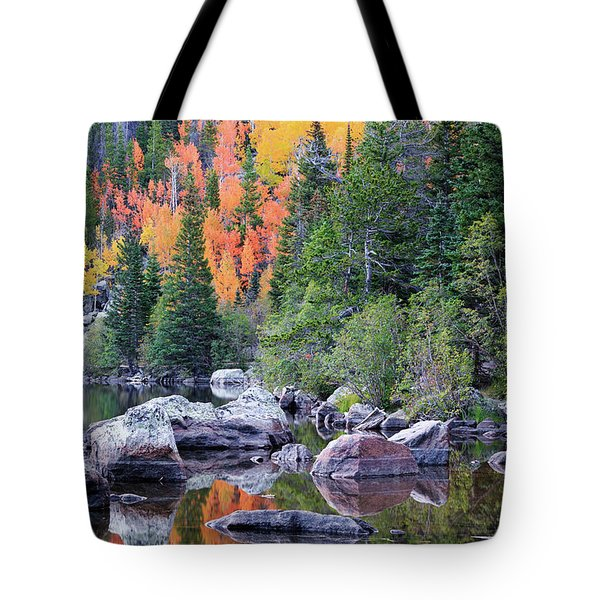 Autumn At Bear Lake Tote Bag