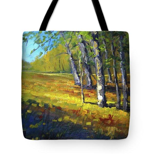 Autumn At Bloedel Tote Bag