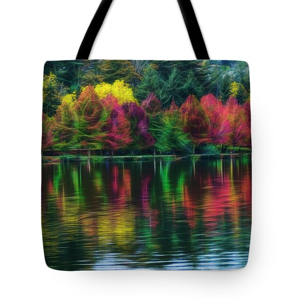 Autumn At Green Lake Seattle Tote Bag