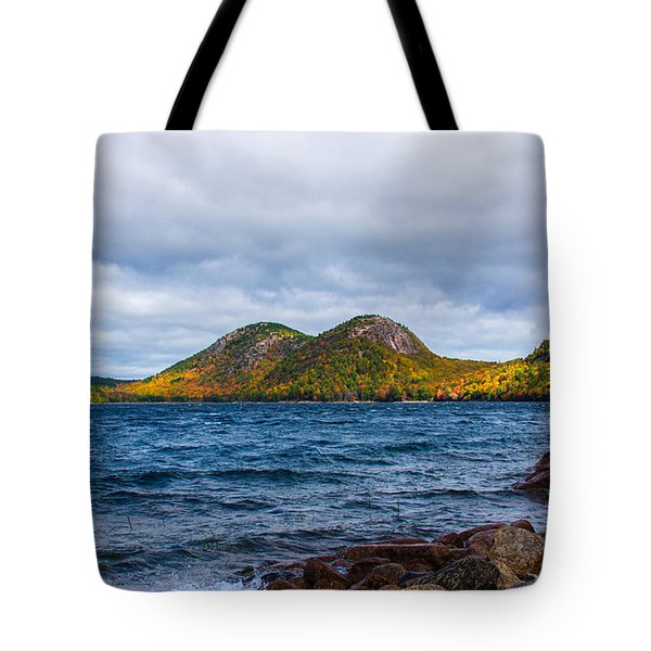 Autumn At Jordan Pond Tote Bag