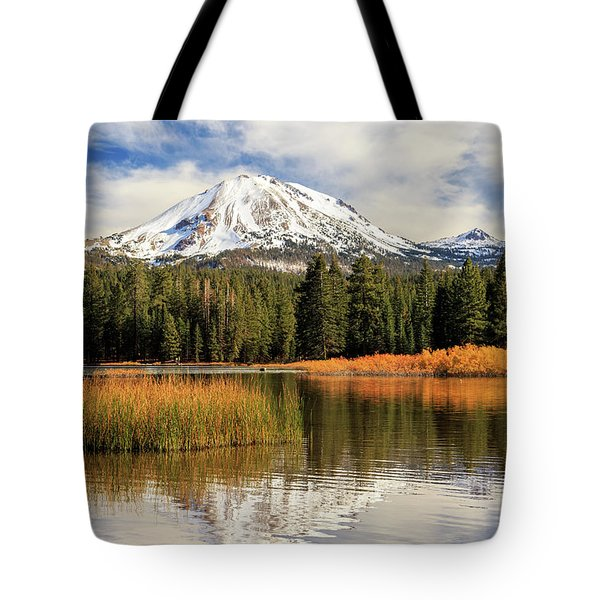 Autumn At Mount Lassen Tote Bag