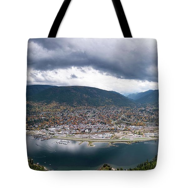 Autumn At Nelson Tote Bag
