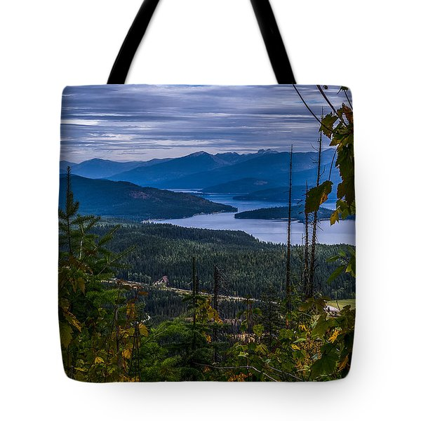 Autumn At Priest Lake Tote Bag by Yeates Photography