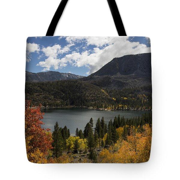 Autumn At Rock Creek Lake 2 Tote Bag