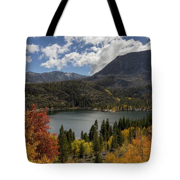 Autumn At Rock Creek Lake Tote Bag