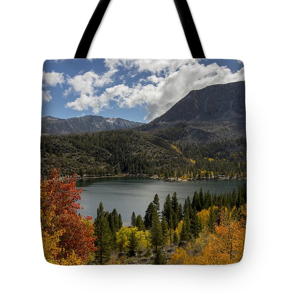 Autumn At Rock Creek Lake Tote Bag