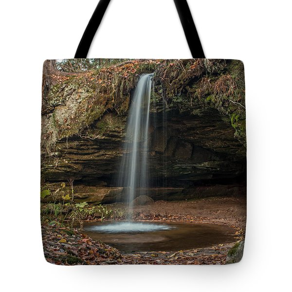 Autumn At Scott Falls Tote Bag