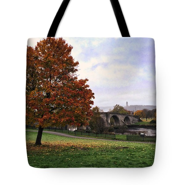 Autumn At Stirling Bridge Tote Bag