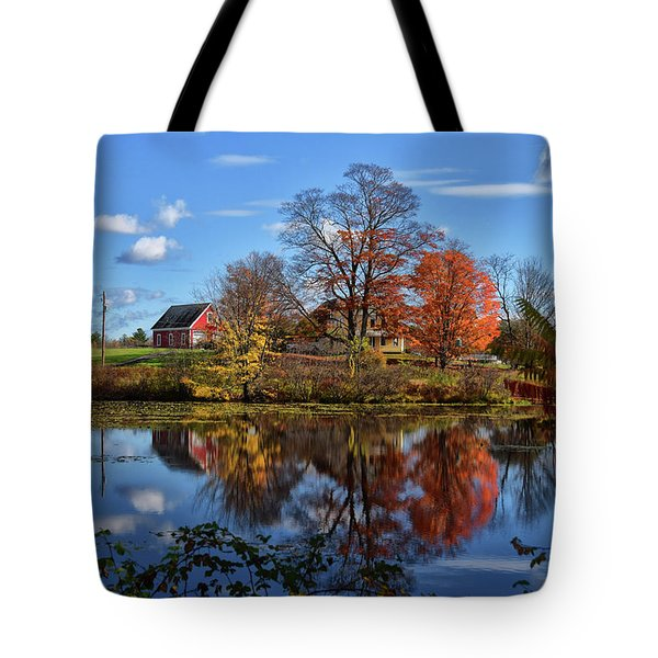 Autumn At The Farm Tote Bag