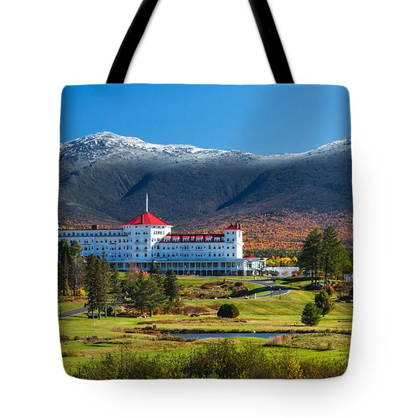 Autumn At The Mount Washington Crop Tote Bag