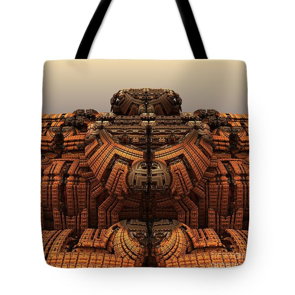 Autumn At The Thunderball Dome Tote Bag