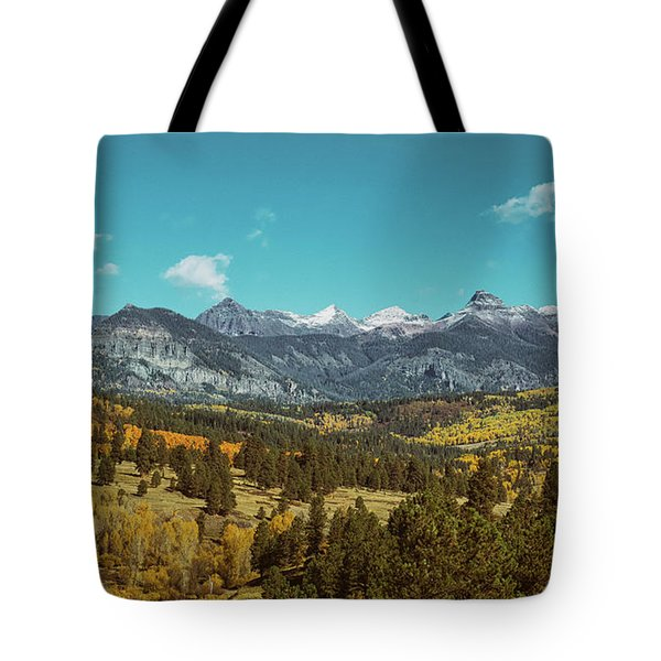 Autumn At The Weminuche Bells Tote Bag