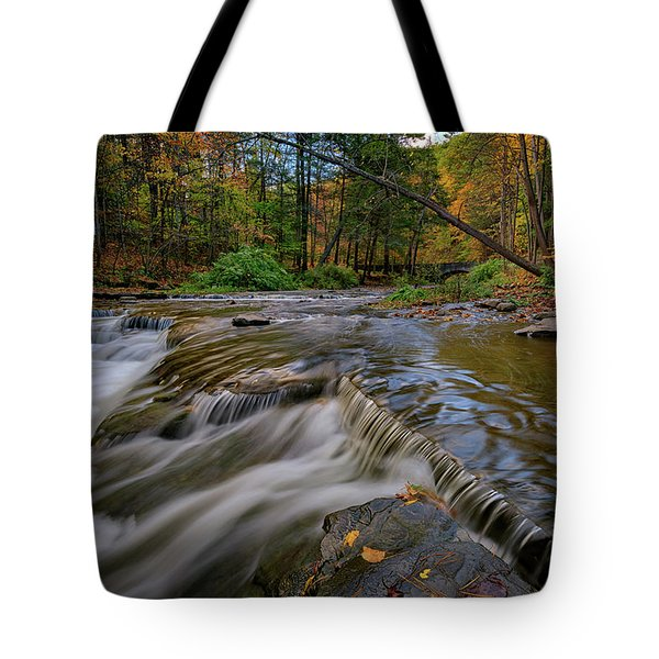 Autumn At Wolf Creek Tote Bag