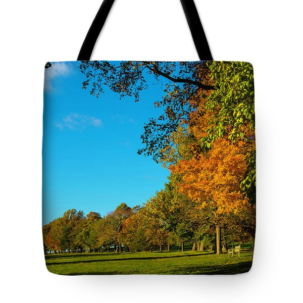 Autumn At World's End Tote Bag
