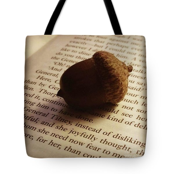 Autumn Austen Tote Bag