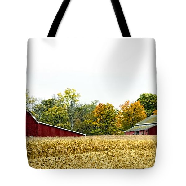 Autumn Barns Tote Bag