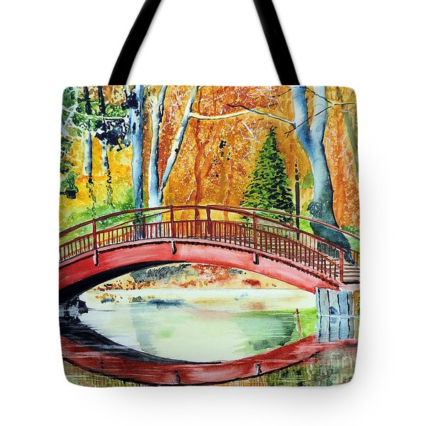 Autumn Beauty Tote Bag by Tom Riggs