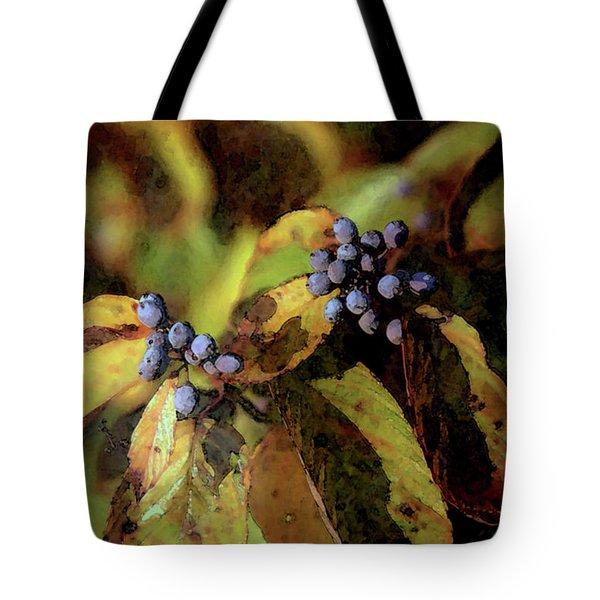 Autumn Berries 6047 Dp_2 Tote Bag