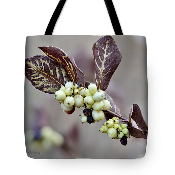 Autumn Berries And Foliage Tote Bag