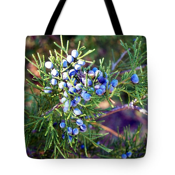 Tote Bag featuring the photograph Autumn Berries by Betty Northcutt